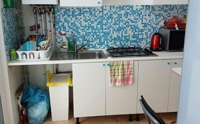 cuisine équipee - chaque locataire dispose dun frigo privatif