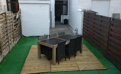 Jardin + terrasse
