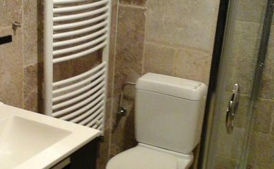 salle douche ,avec wc ( privé)